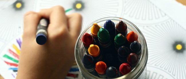 crayons enfant